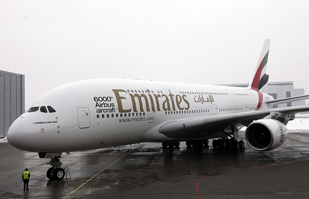 Emirates Currently In  Discussion Of Purchasing 20 More Superjumbo Jets