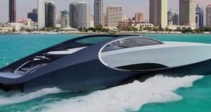 Bugatti Niniette 66 Chiron based yacht