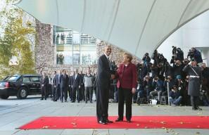 Obama Meets With European Leaders In Berlin