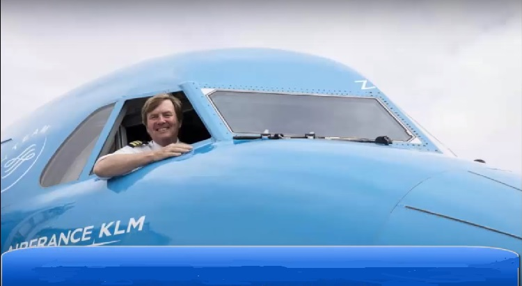 King Willem-Alexander Of The Netherlands Has Been Part-Timing As A Pilot
