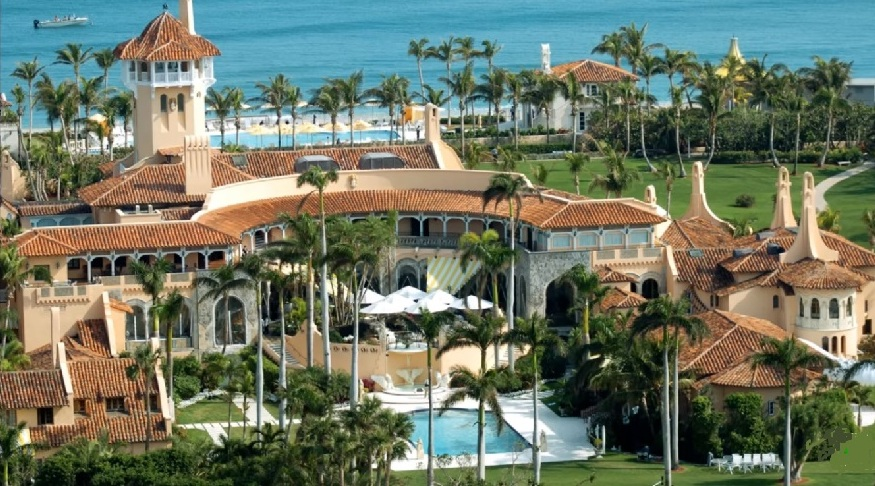 Sinkhole At Donald Trump's Mar-A-Lago Resort Seen As Heaven Sent
