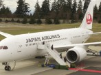 Japan Airlines Takes Delivery Of Boeing 787 Dreamliner