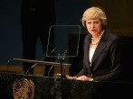 The British Prime Minister Attends The 71st Regular Session Of The UN General Assembly