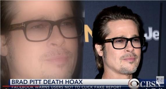 Facebook warns users after Brad Pitt death hoax