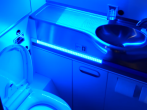 WIRED  WIRED  Subscribe612,626 Add to   Share  More 12,861 views  252  4 Published on Mar 4, 2016 The plane maker has a prototype bathroom that uses ultraviolet light to zap 99.99 percent of germs in just three seconds.  Still haven't subscribed to WIRED