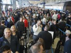 Long Lines In Airports Rise