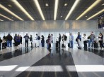 The long lines continued on Monday at the nation's third-busiest airport