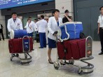 North Korean Delegates Arrive At South Korea For Asian Games
