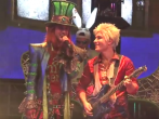 The Wonderland Crew Celebrates The Mad T Party At Disneyland Resort