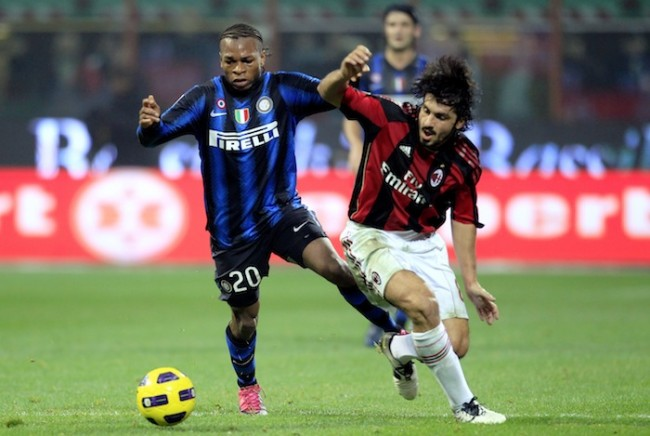 AC Milan V Inter Milan--Known as the Derby della Madonnina