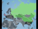 The China-Britain Freight Railway is the first that links China and London by land