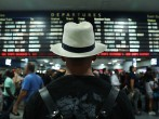 Holiday Travelers Leave New York For Labor Day Weekend