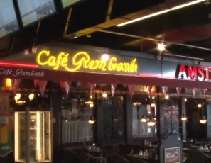 Café Rembrandt best airport bar in the world