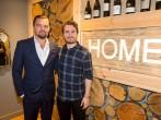 Leonardo DiCaprio Has Lunch At The Social Bite Restaurant, Home