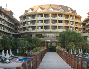 Royal Dragon hotel Side Turkey, pictures & videos