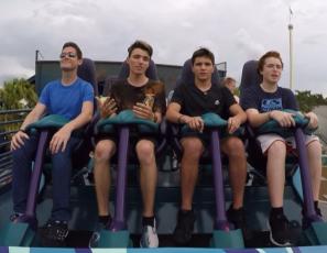 Mako Roller Coaster Riders Cam On-ride (HD POV) SeaWorld Orlando