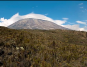 Panorama pictures from Kilimanjaro