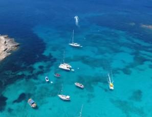 4K Blue Lagoon Comino Malta DJI Phantom 4 Teil2