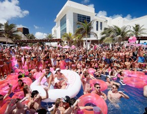Victoria's Secret PINK Nation Hosts Spring Break Beach Party in Cancun, Mexico