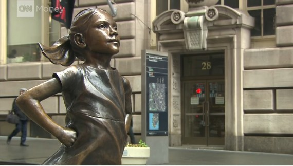The Fearless Girl