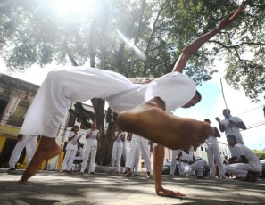 Capoeira is a Brazilian martial art