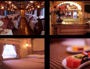 Indian luxury train