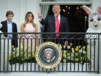 Trump Celebrates First Easter Egg Roll As US President