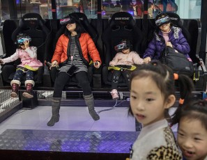 China's Virtual Reality Arcades Bring VR To The Masses