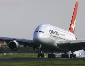Qantas Welcomes The Airbus A380