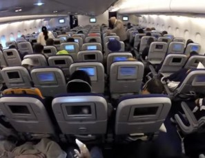 Your Airline Seat Has Suffered a Lot of Punishment