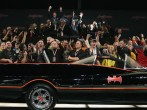 Spectators cheer as the original Batmobile is sold for $4,200,000 during the Barrett-Jackson collectors car auction in Scottsdale, Arizona January 19, 2013