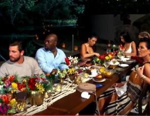 KUWTK   Scott Disick Is Literally Under Fire at Dinner   E!