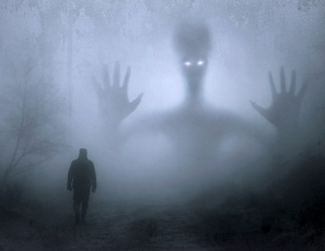 Man haunted by a ghost