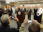 Ebola Press Conference Boston Logan Airport
