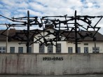 General view of the Dachau concentration camp memorial ahead of the visit of German Chancellor Angela Merkel on August 20, 2013 in Dachau, Germany.