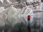 Velke Hincovo Pleso Lake in Slovakia