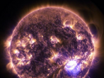 NASA has captured video of the sun emitting a significant solar flare