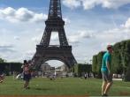 Guy Moonwalks Across Europe