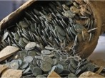 Spanish Pipe Layers Find Large Roman Coin Hoard