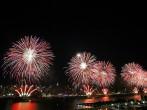 Fireworks Burst Over One Of America's Cities, New York City