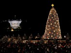 Obamas Take Part In Lighting Ceremony For National Christmas Tree