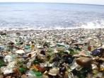 Glass beach of Russia