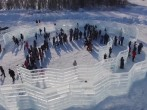 The first ever ice library in the world has been unveiled in Russia