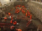 London: Crossrail tunnel digging uncovers layers of history