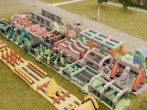 WORLD'S BIGGEST INFLATABLE: 893FT / 272M Crazy Obstacle Course!