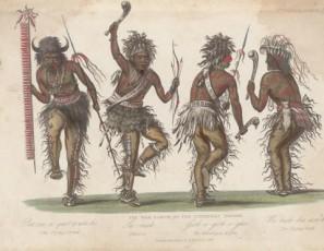 Ojibwa War Dance