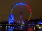Facebook Lights Up The London Eye With The Nation's General Election Conversations To Mark Seven Days To Go Until Polling Day - Day 2