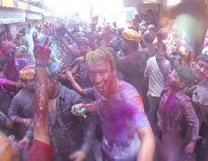 GoPro: Crazy HOLI Colour Festival India! Amazing!