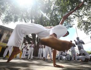 Capoeira is a Brazilian martial art