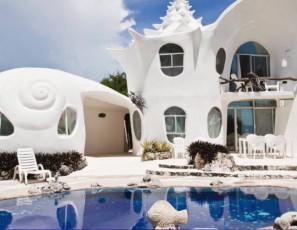 The Seashell House, Isla Mujeres, Mexico